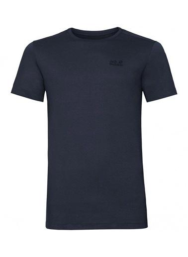 Jack Wolfskin Rebel Tee Erkek T-Shirt - 1806851-1010 Lacivert